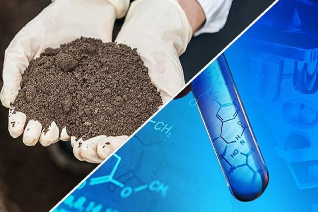 What is elemental analysis and how is it used in soil testing
